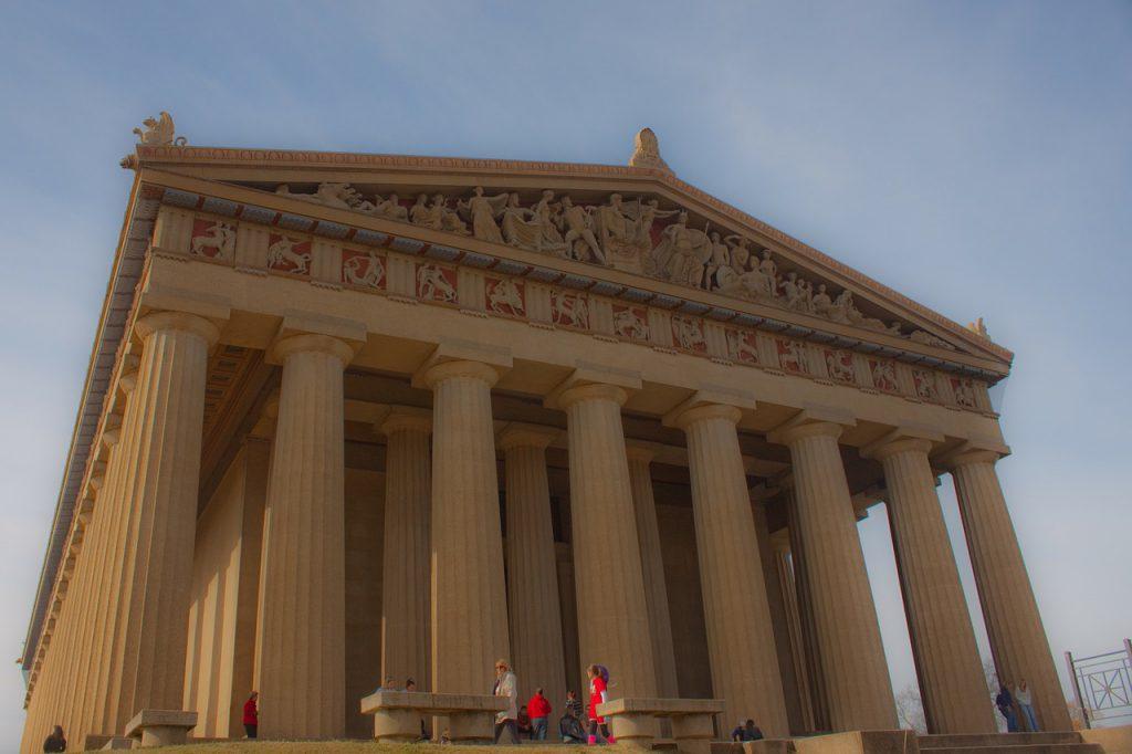 มหาวิหารพาร์เธนอน กับความยิ่งใหญ่จากอดีต